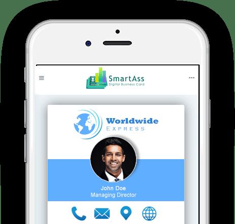 Multiple Smart Digital Business Cards