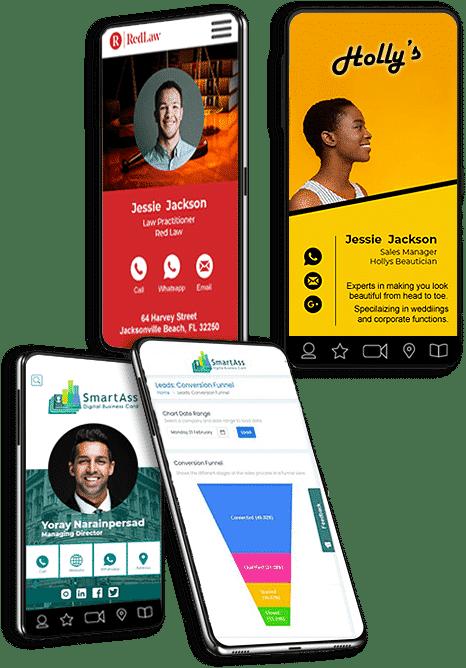 SmartAss Digital Business Card Richards Bay Examples